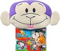 Seat Pets Purple/Tan Monkey Car Seat Toy