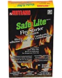 Rutland 50C Safe Lite Fire Starter Squares, 24-Square