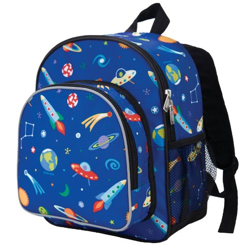 Wildkin Olive Kids Out of This World Pack 'n Snack Backpack