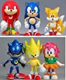 Sonic The Hedgehog Classic 5 cm Collectable Boxset (6 Figure)