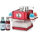 Snow Cone / Slushie Maker Including 2 X 500ml Syrup Bottles