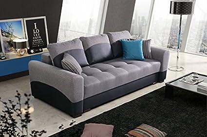 Sofa Devo mit Schlaffunktion Schlaffcouch Couch Polstersofa Polstercouch 03