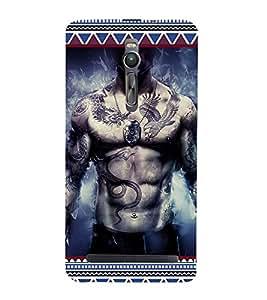 ifasho Designer Phone Back Case Cover Asus Zenfone 2 ZE551ML ( Skull Man Skull Symbol HellMan )
