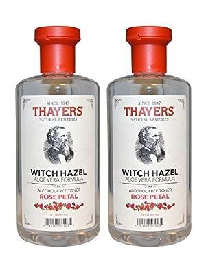 Thayers Rose Petal Witch Hazel with Aloe Vera - 12 oz.