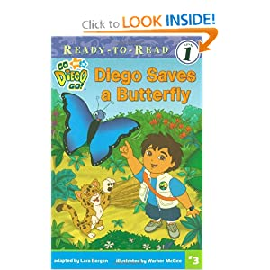 Diego Saves a Butterfly (Go, Diego, Go! Ready-to-Read)