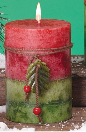 Mulberry Scented Christmas Candle - 3