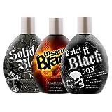 Paint It Black Millennium Tan Indoor Tanning Lotions Dark Bronzer Accelerator UV