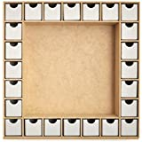Kaisercraft Beyond The Page MDF Advent Calendar, 13-Inch by 13-Inch