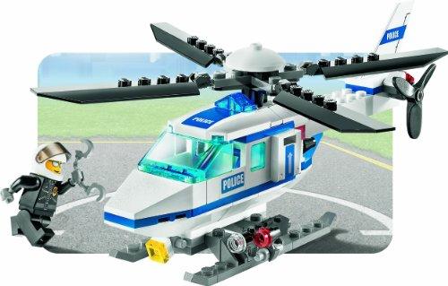 Elicottero Lego City Polizia : Lego city elicottero della polizia costruzioni