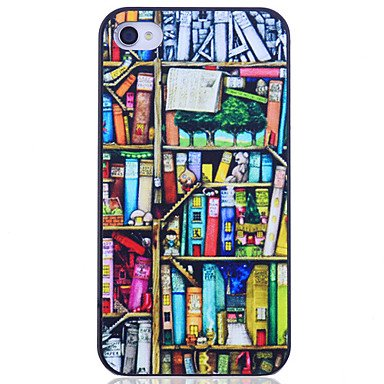 Bücherregal Prongting zurück Fall für iPhone 4/4S