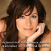 An Interview with Bianca Amato, Narrator of The Red Queen | [Bianca Amato]