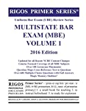 img - for Rigos Primer Series Uniform Bar Exam (UBE) Review Series MBE Volume 1: 2016 Edition book / textbook / text book