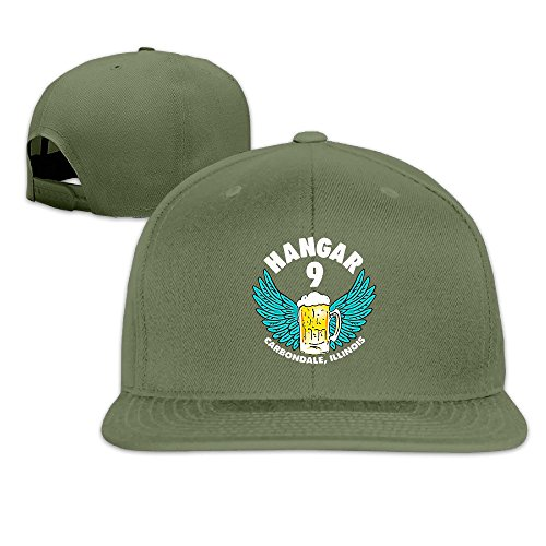 thna-old-crow-medicine-show-hangar-9-album-logo-adjustable-fashion-baseball-cap-forestgreen