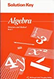img - for Algebra Structure and Method Book 1 Solution Key ISBN# 0395677645 book / textbook / text book