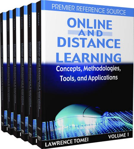 Online and Distance Learning: Concepts, Methodologies, Tools and Applications