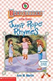 Jump Rope Rhymes (0590259954) by Martin, Ann M.