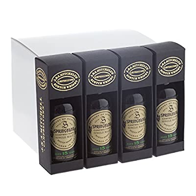 Springbank 15 year old Single Malt Scotch Whisky 5cl Miniature - 12 Pack from Springbank