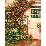 """Poster 50 x 60 cm: G�rten und Terrassen - Gartenparadies von Marita Zacharias - hochwertiger Kunstdruck, neues Kunstpostervon """"Marita Zacharias"""""""