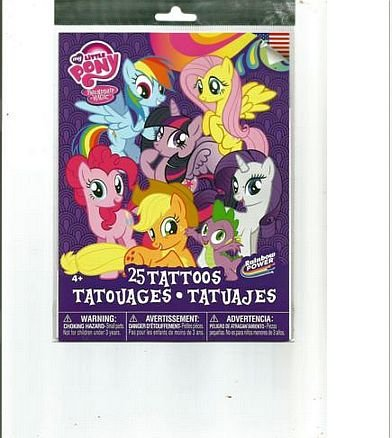 My Little Pony Temporary Tattoos - 25 Count - 1