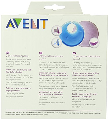 Philips AVENT Thermal Gel Pads, 2-Pack