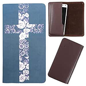 DooDa - For Panasonic P41 PU Leather Designer Fashionable Fancy Case Cover Pouch With Smooth Inner Velvet