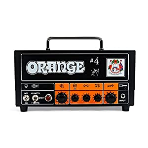 Orange Signature #4 Jim Root Terror 15 Watt Tube Head