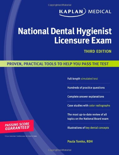 Dental Hygienist college board subject test book