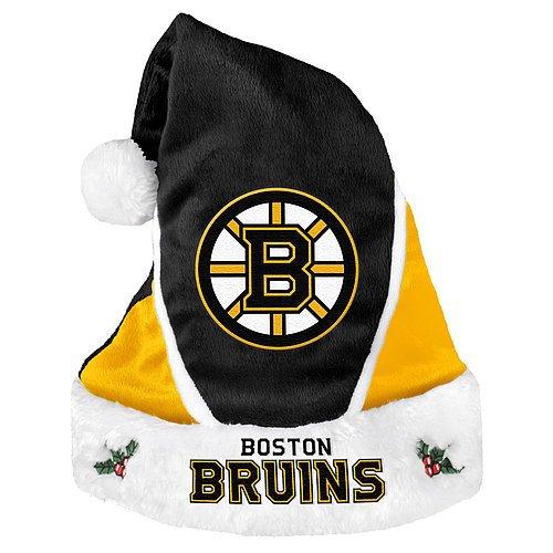 Boston Bruins Santa Hat - Colorblock 2014 - Licensed NHL Hockey Gift