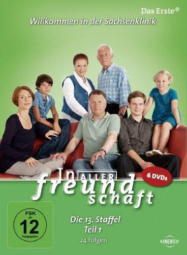 In aller Freundschaft - Die 13. Staffel, Teil 1, 24 Folgen [6 DVDs]