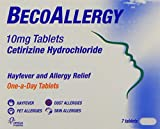 Beconase BecoAllergy Tablets - 10 mg, Pack of 7 Tablets