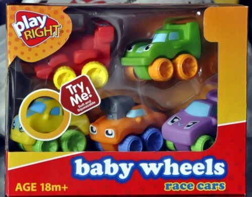 Play Right Baby Wheels Race Cars - 1
