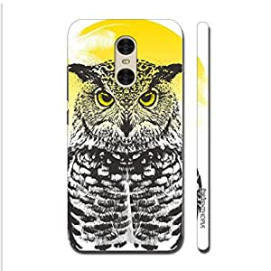 Enthopia Designer Hardshell Case Owl Rising Back Cover for Xiaomi Redmi Pro