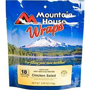 Mountain House Chicken Salad Wrap - Pack Of Two by Mountain House
