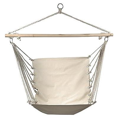 Hängestuhl / Hängesessel in beige Tragkraft: 100 kg von elasto form KG bei Gartenmöbel von Du und Dein Garten