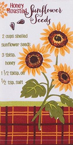 Honey Roasted Sunflower Seeds Recipe 26 Inch Kitchen Flour Sack Towel