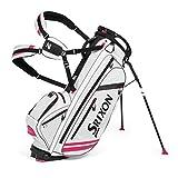 Srixon 2015 ZFOUR Stand Bag, White/Pink
