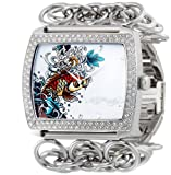 Christian Audigier Watches:Ed Hardy Women's LI-KI Lilly Koi Watch