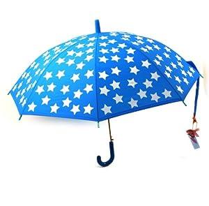 Jip - JIP0567 - Parapluie Eva Bleu et Étoiles Blanches