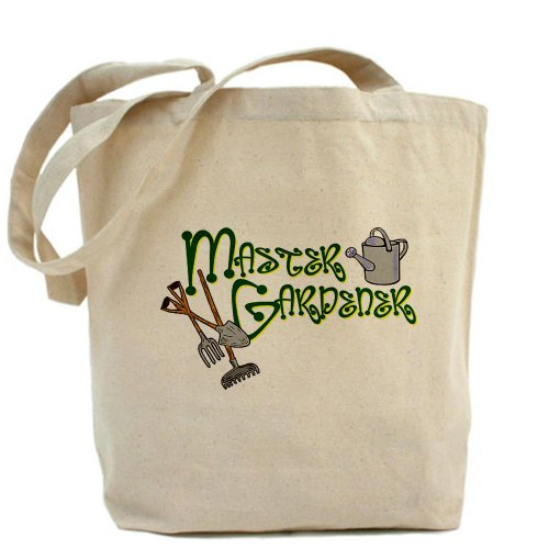 CafePress - Master Gardener Tote Bag - Natural Canvas Tote Bag, Cloth Shopping Bag