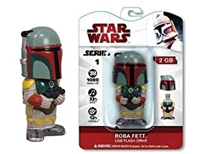Star Wars 4 Gig USB Drive - Boba Fett