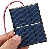 CAMTOA® 0.65W 1.5V Panneau solaire petit module cellule PV pour kits solaires bricolage...