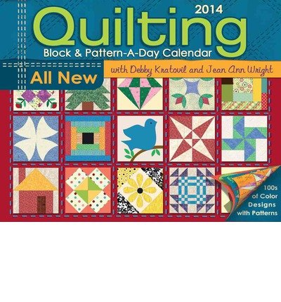 Quilting Block & Pattern-a-day 2014 Activity Box Calendar (Calendar) - Common