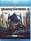 Image de Transformers 3 (3D+2D+DVD) (limited edition) [(3D+2D+DVD) (limited edition)] [Import italien]