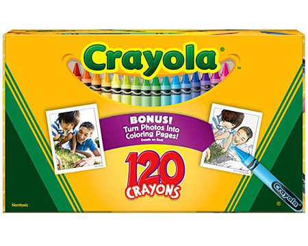 3 Pack Original Crayon 120-Color Set (Product Catalog: Writing & Drawing Mediums) front-1035579