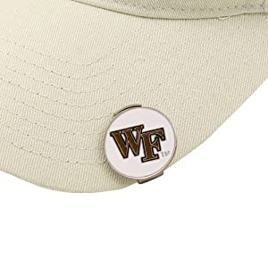Buy NCAA Wake Forest Demon Deacons Hat Clip and 2 Golf Ball Markers by Team Effort