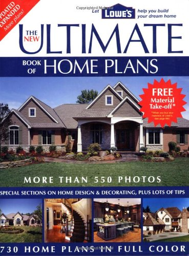 The New Ultimate Book of Home Plans: Lowe's Branded - Creative Homeowner - 1580113362 - ISBN: 1580113362 - ISBN-13: 9781580113366