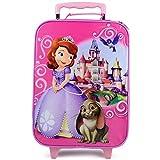Disney Sofia the First Rolling Luggage Trolley