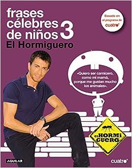 Frases célebres de niños 3: 9788403100374: Amazon.com: Books