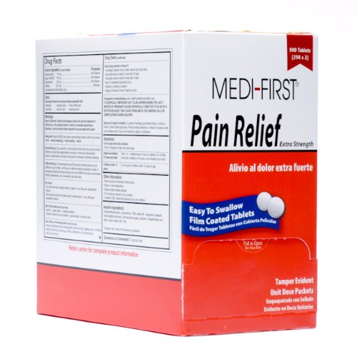 Medifirst Pain Relief Tablets 250x2B0006GBEWG : image