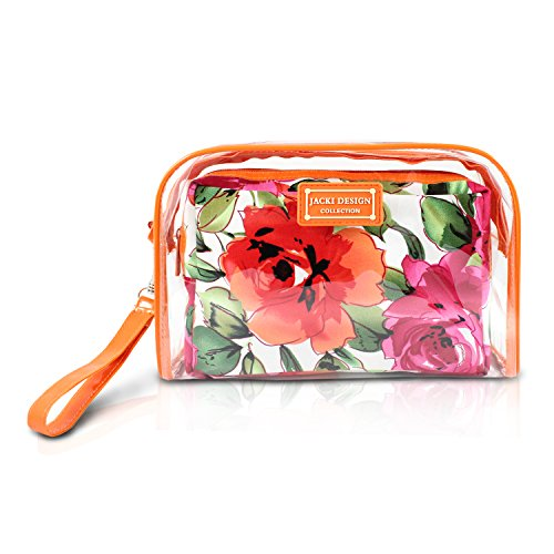 jacki-design-tropicana-floral-2-pc-clear-travel-cosmetic-bag-organizer-w-wristlet